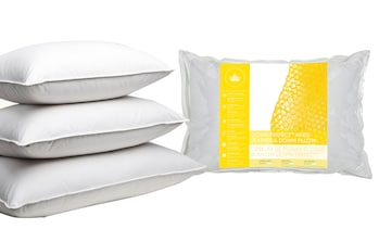 White Feather and Down Pillows (2-Pack)