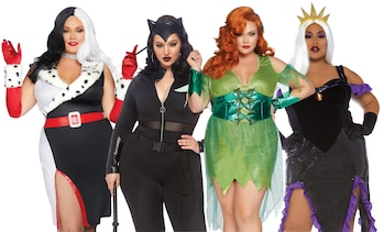 Leg Avenue Women's Super-Villain Plus Size Costume