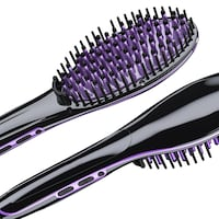 Groupon.com deals on Insta Magic 1.5-in LED Hair Straightening Ceramic Brush