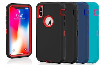 Shockproof Protective Case for iPhone X/XS, XR, or XS MAX