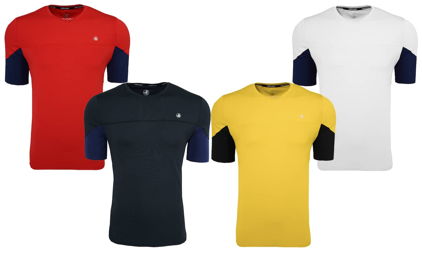 Body Glove Men's Signature Color Block T-Shirt (various colors/sizes)