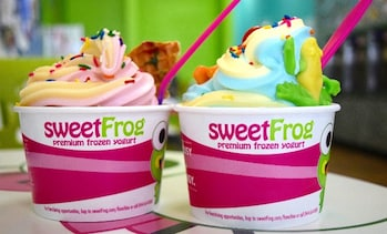 Up to 50% Off Frozen Yogurt at Sweet Frog