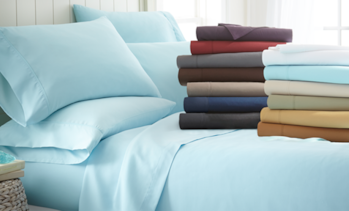 Microfiber Merit Linens Bed Sheets Sets (6-Piece)