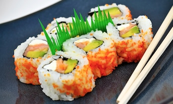 41% Off Sushi or Hibachi Dinner for Two or More at Sumo