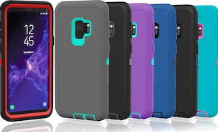 Samsung Galaxy S9 / S9 Plus Protective Shockproof Hybrid Defender Case