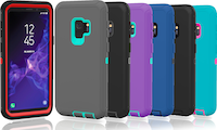 Samsung Galaxy S9 / S9 Plus Protective Shockproof Hybrid Defender Case Cover